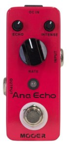 Pedal de Delay Mooer Ana Echo Analog Delay