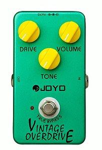 Pedal De Efeito JOYO JF-01 Vintage Overdrive para Guitarra