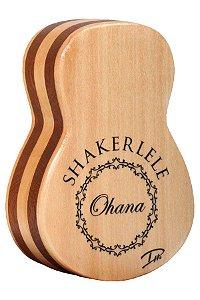 Ganzá Ohana Shakerlele Percussão de Mão Spruce