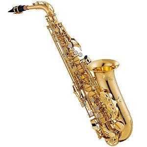 Saxofone Alto Jupiter JAS500 Laqueado Eb/F com Case