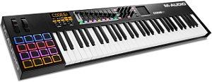 Teclado Controlador M-Audio CODE 61 USB/MIDI 61 Teclas