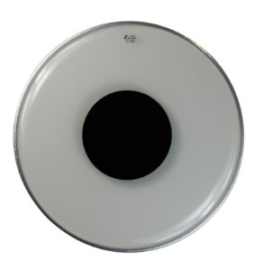 "Pele Encore by Remo Controlled Sound 22"" EN-1322-CT Transparente C/ Circulo Preto"