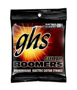 Encordoamento GHS Boomers .009,5 /.044 GB9 1/2 para Guitarra
