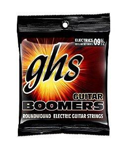 Encordoamento GHS Boomers .009,5 /.044 GB9 1/2 para Guitarra