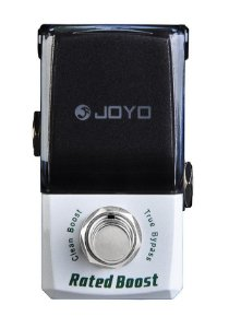 Pedal de Efeito Joyo Rated Boost Jf-301 Clean Boost para Guitarra
