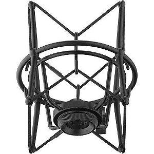 Suporte Shock Mount Lexsen LSM-18 Preto para Microfone