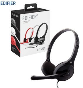 Fone de Ouvido Edifier K550 On Ear com Microfone