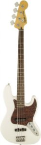 Contrabaixo 4 Cordas Fender Squier Vintage Modified Jazz Bass Olimpic White