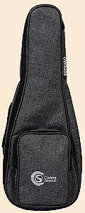 Capa Custom Sound UKS Premium para Ukulele Soprano Preto