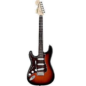 Guitarra Fender Squier Standard Stratocaster Canhota Antique Burst