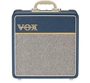 "Caixa Amplificada Valvulada Vox AC4C1-BL 1x10"" 4W para Guitarra"