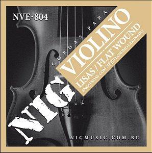 Encordoamento Nig NVE-804 para Violino