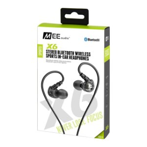 Fone De Ouvido Mee Audio X6 Plus Stereo Bluetooth Sports In-Ear