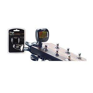 Afinador Cromático Stagg CTU C3 automático clip-on