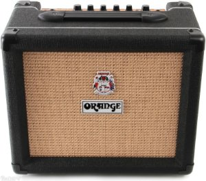 Caixa Amplificada Orange Crush PiX CR12L 12W 1x6 Black para Guitarra