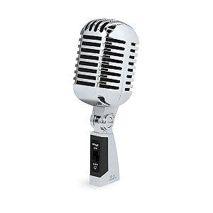 Microfone Vintage Stagg SDMP40 Cromado