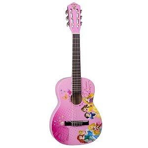 Violão Acústico PHX VIP-3 Disney Princess Nylon com Capa