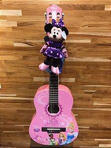 Violão Acústico PHX VIP-1 Disney True Princess Nylon com Capa