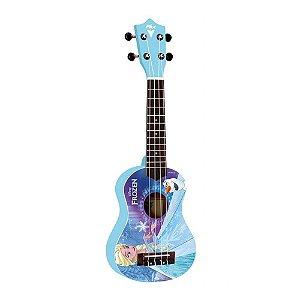 Ukulele PHX UKP-F1 Soprano 21 Frozen Blue com Capa