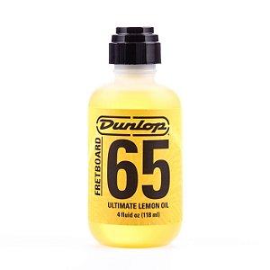 Óleo de Limão Dunlop F65 para Escalas FretBoard Ultimate Lemon Oil