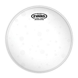 """Pele Evans 10"""" TT10HG Hidráulica Glass Transparente para Tom"""