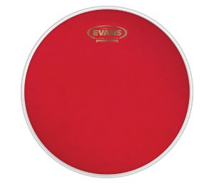 "Pele Evans 12"" TT12HR Hidráulica Red Transparente para Tom"
