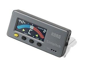 Afinador Korg Slimpitch SLM-1CM Cromatico Preto