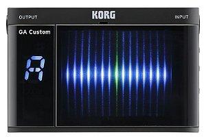 Afinador Korg Ga Custom GA-CS Preto para Guitarra e Baixo