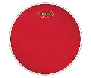 "Pele Evans 14"" TT14HR Hidráulica Red Transparente para Tom"