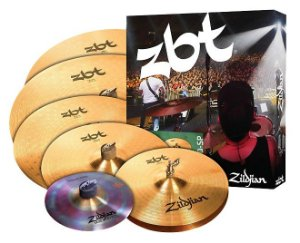 Kit de Pratos Zildjian ZBT 390 Super Pack ZBTP390 14HH+14,16,18CR+20RIDE + 10SP