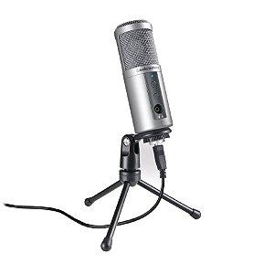 Microfone Condensador Audio Technica ATR2500 USB