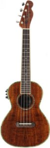 Ukulele Eletro-Acústico Fender Tenor Nohea Electric Natural Com Bag