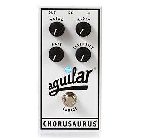 Pedal de Efeito Aguilar Chorusaurus Chorus para Baixo