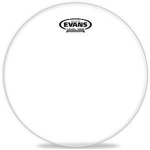 """Pele de Resposta Evans 14"""" S14H30 Haze 300 Transparente para Caixa"""