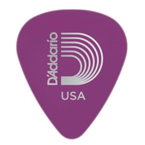 Palheta D'addario 1DPR6-25 Duralin Heavy Gauge 1.2mm Purple