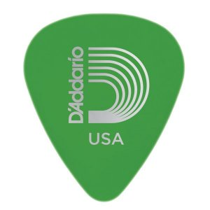 Palheta D'addario 1DGN4-25 Duralin Medium Gauge 85mm Verde