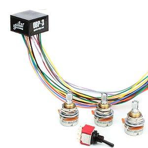 Circuito Pre Amp para Baixo Aguilar OBP-3TK com 3 Potenciômetros