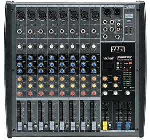Mesa de Som Mark Audio CMX08 Usb 8 Canais