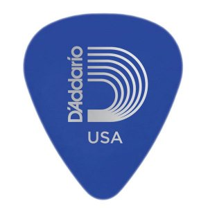 Palheta D'addario 1DBU5-25 Duralin Medium/Heavy 1.0mm Azul