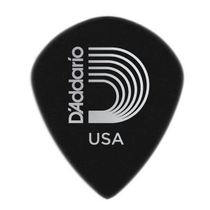 Palheta D'addario 3DBK6-25 Duralin Black Ice Heavy Gauge 1,10mm