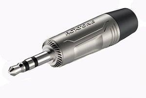Conector Roxtone RMJ3P-NN Premium P2 Estéreo 3,5 mm