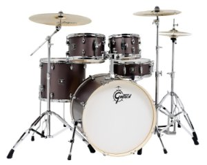 Bateria Acústica Gretsch Energy GE4-E825V G Brushed Grey