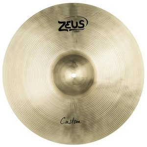 "Prato de Ataque Zeus Cymbals Custom Series ZCC16 16"" Crash"