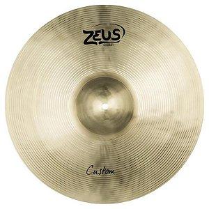 """Prato de Condução Zeus Cymbals Custom Series ZCR20 20"""" Ride"""