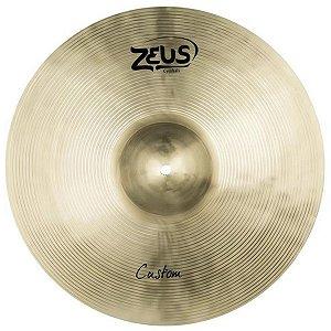 "Prato de Efeito Zeus Cymbals Custom Series ZCS8 8"" Splash"