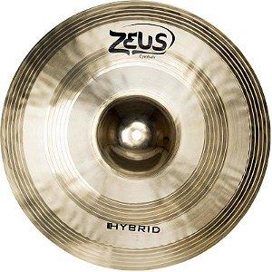 "Prato de Efeito Zeus Cymbals Hybrid ZHS10 10"" Splash"