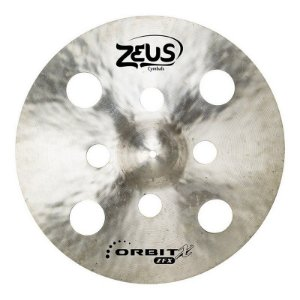 "Prato de Ataque Zeus Cymbals Orbit x  ZOXC17 17"" Crash"