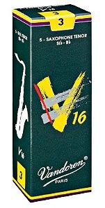 Palheta Vandoren V16 Nº 3 para Sax Tenor