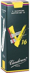 Palheta Vandoren V16 Nº 2 para Sax Barítono