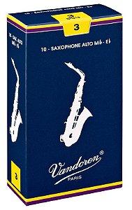 Palheta Vandoren Tradicional Nº 3 para Sax Alto